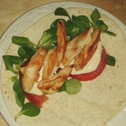 Quesadillas-pollo-ensalada