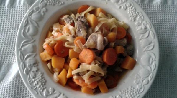 Wok de Carne con Verduras
