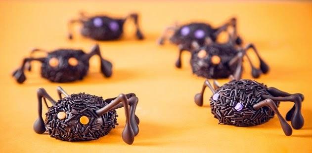 aranas-de-brigadeiro-trufas-chocolate