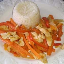 Wok Pollo Verduras
