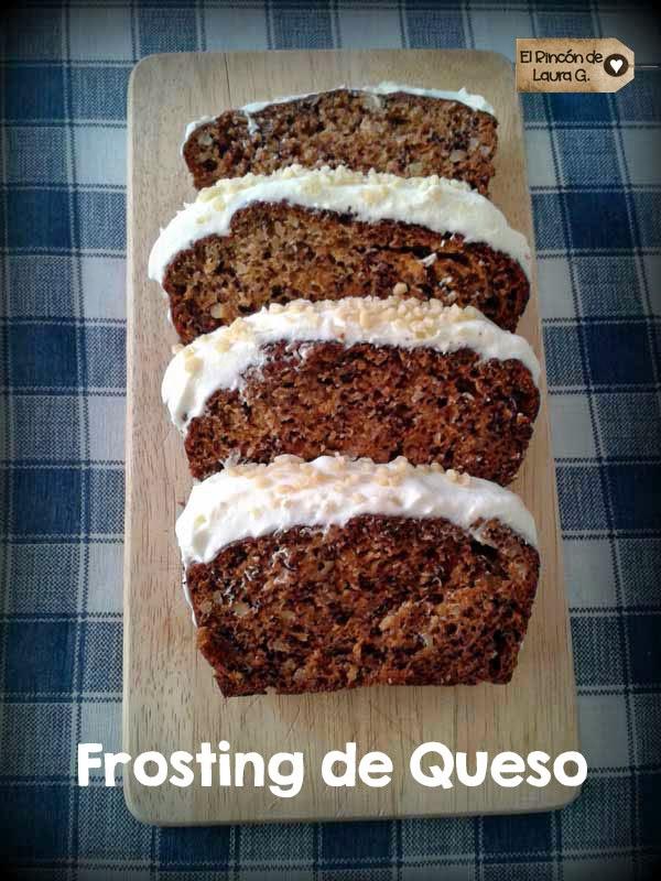 Frosting de Queso crema y mantequilla