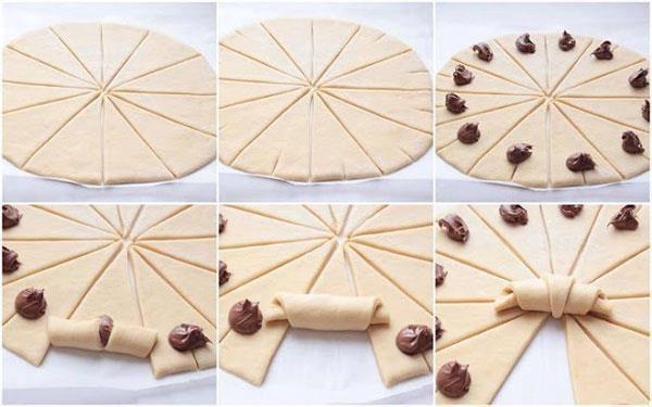 Medialunas rápidas y fáciles {Croissants exprés}