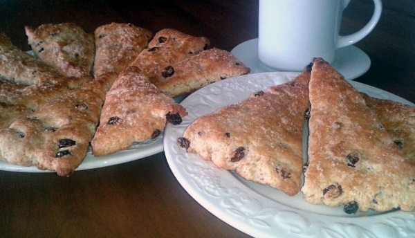Scones triangulares