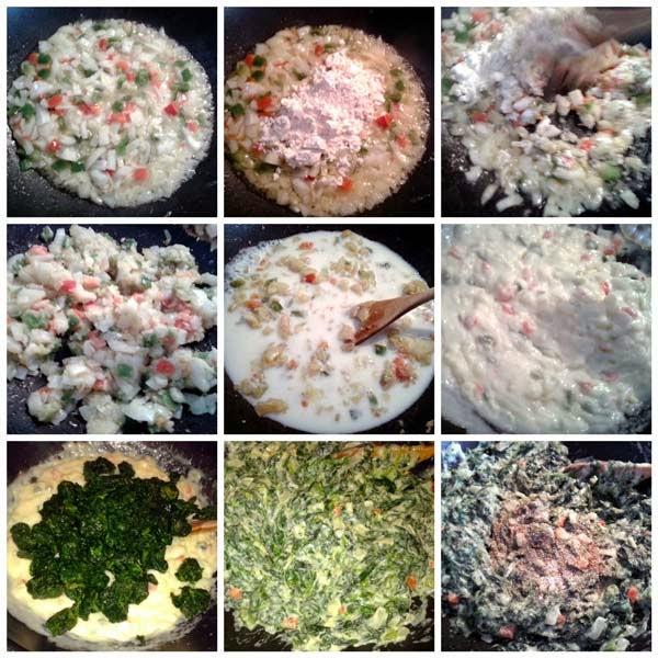 pastel-espinacas-bechamel-arroz