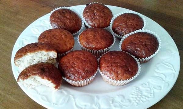Muffins de Banana y Yogur