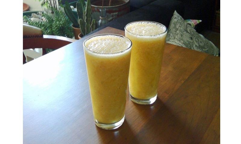 Smoothie de Naranja y Banana