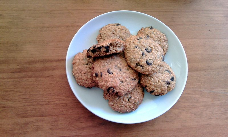 Cookies de Avena y Chocolate