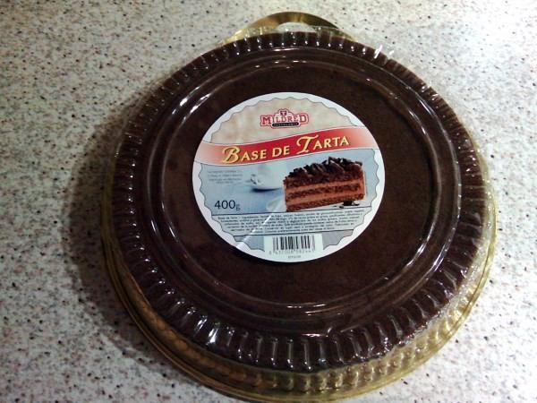 base de tarta chocolate