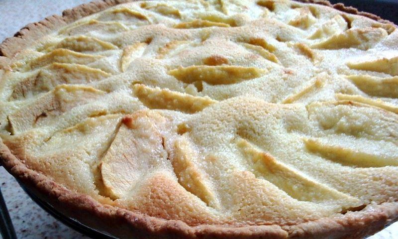 Tarta de Manzanas con Crocante de Almendras