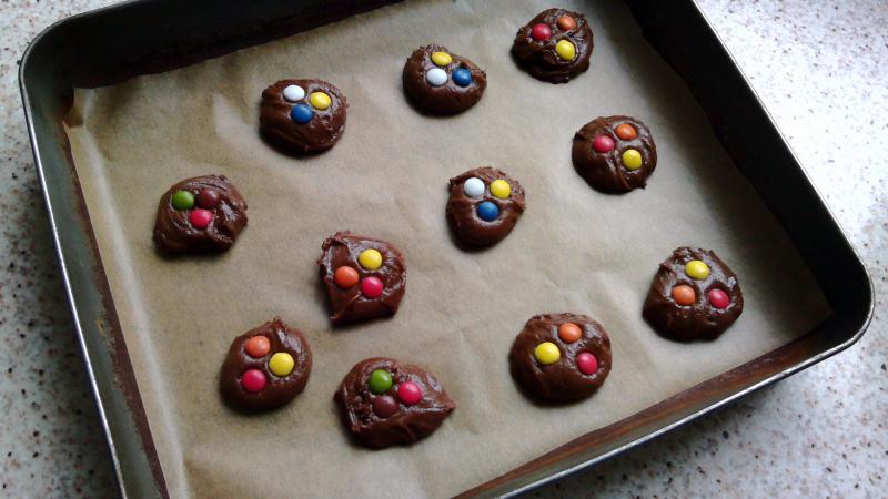 Galletas-de-Nutella-con-Lacasitos