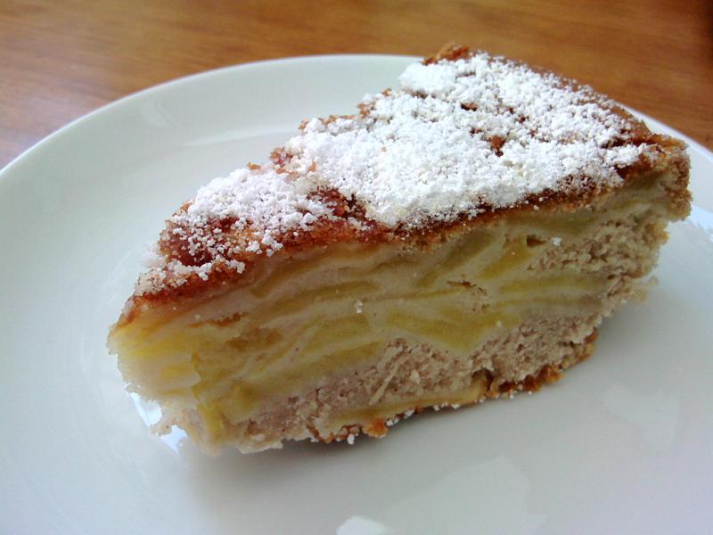 Tarta de manzanas rusa Sharlotka