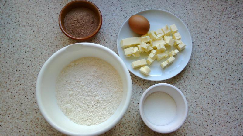 Masa sablee al cacao