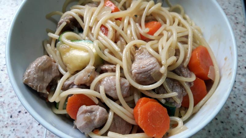 wok de pasta