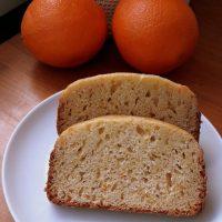 bizcocho de naranja panificaadora