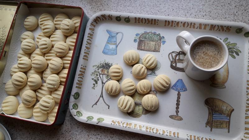 cookies de leche condensada y maizena