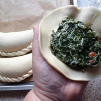 Empanadas de Espinaca y Queso