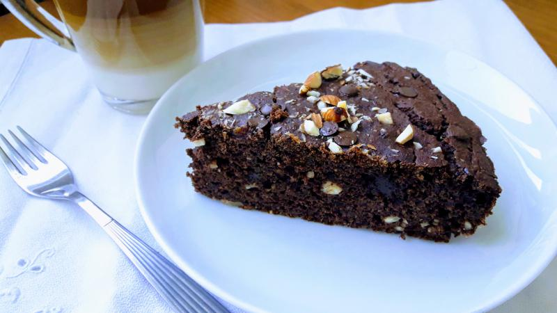 Tarta de Chocolate Realfooder