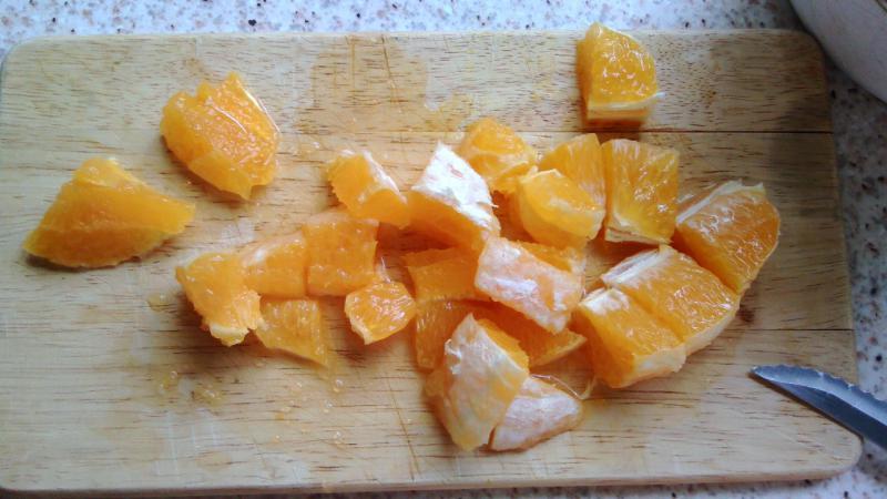 Bizcocho de zanahoria y naranja