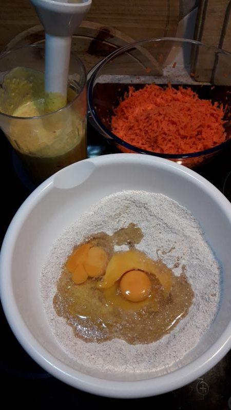 cake de zanahoria y naranja