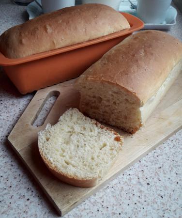 Pan de Viena en molde