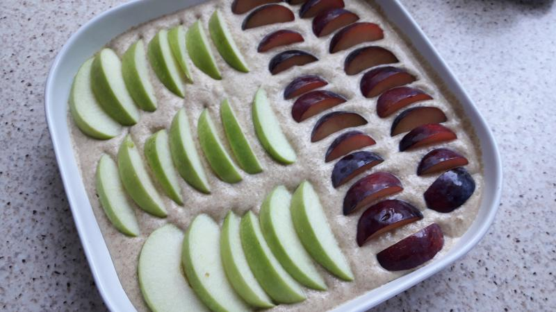 Cake Integral con Fruta