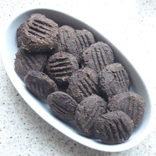 Cookies de garbanzos avena y chocolate