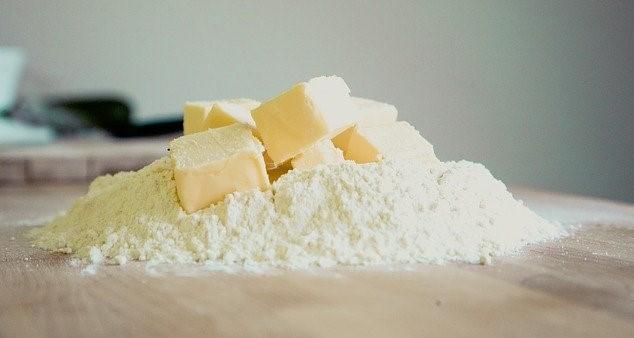 Mantequilla y harina