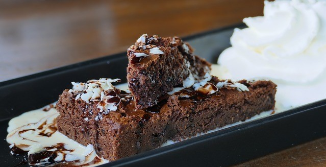 Brownie sin gluten